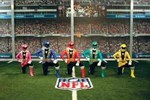 Power Rangers NFL Promotional Campaign