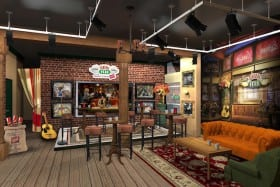Coffee's on the house at Central Perk