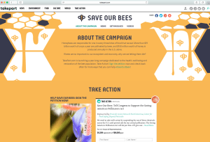 #SaveOurBees_Campaign Pg