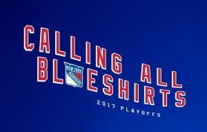 New York Rangers - 2017 Playoffs