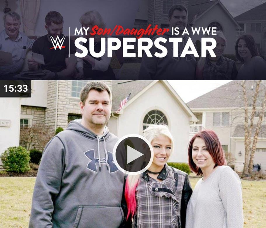 My Son/Daughter is a WWE Superstar