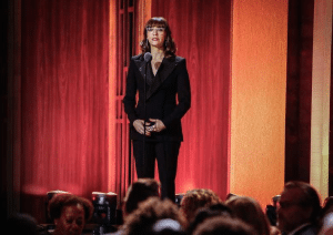 Rashida Jones hosting the 76th Peabody Awards