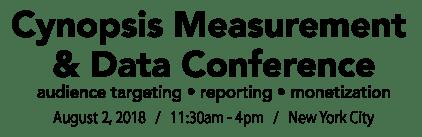 Measurement & Data Conference 2017