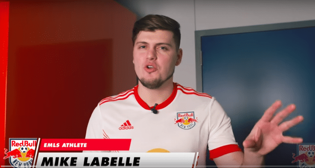New York Red Bulls' Mike LaBelle
