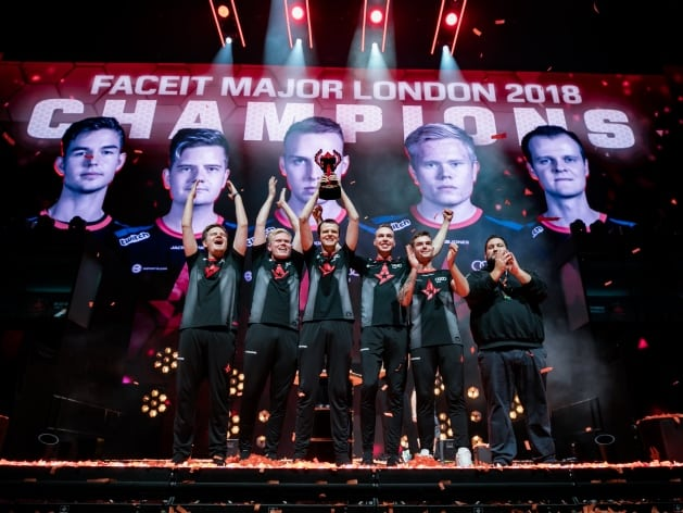 FACEIT's London Major Sets Viewing Records