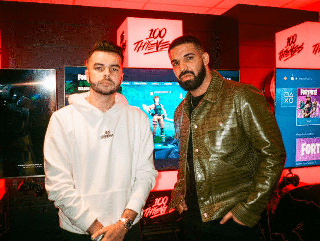 100 Thieves Snatches Drake in Latest Funding Round