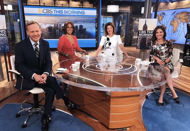 New Face At The Cbs This Morning Table Cynopsis Media