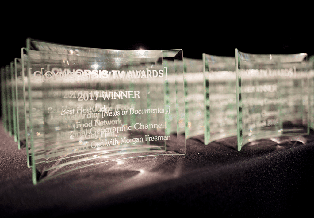 Cynopsis TV Awards Trophies