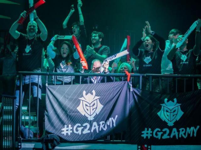 G2 Esports Lands $17.3 Million Funding Round