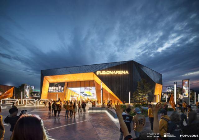 Comcast Spectacor Plots Fusion Arena