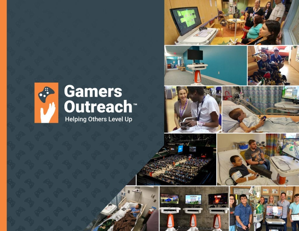ESL Cements Charity Initiative with Gamers Outreach