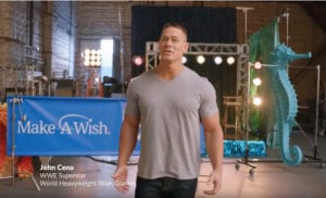 "WWE's & Make-A-Wish's ""Wishes Take Muscle"" Campaign"
