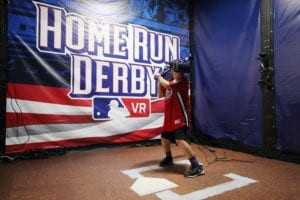 Major League Baseball Home Run Derby VR