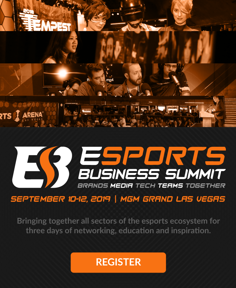 Bringing together all sectors of the esports ecosystem for three days of networking, education and inspiration.