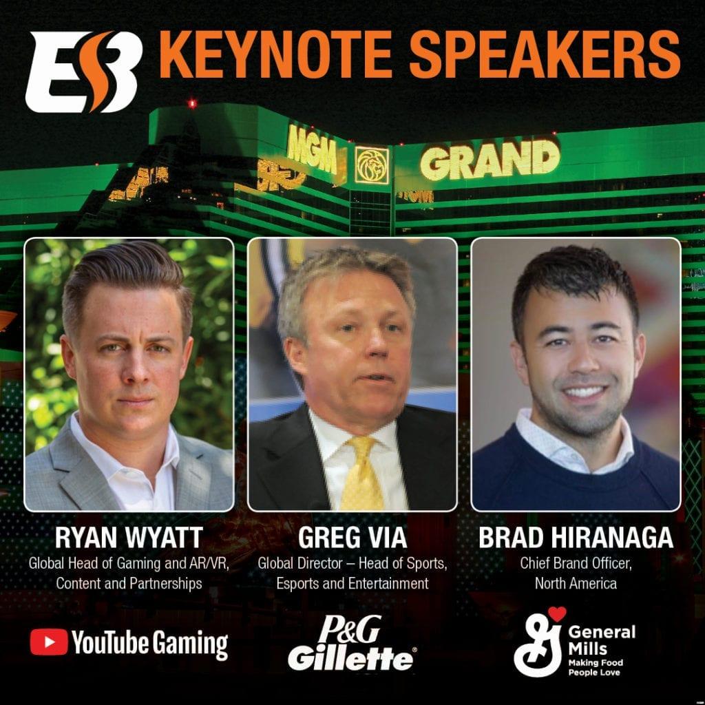 Esports Business Summit Names 2019 Keynoters