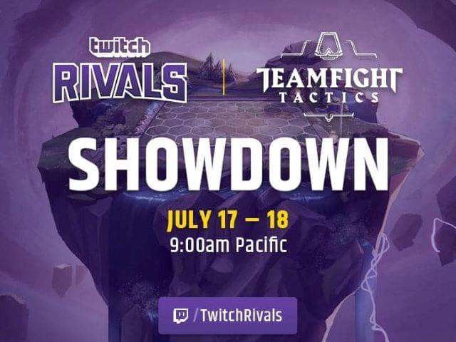 Riot Opens Teamfight Tactics Showdown through Twitch Rivals
