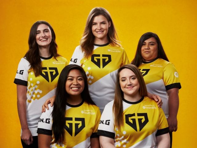 Gen.G Taps Bumble to Form its First All-Women Esports Team