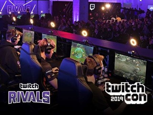 Twitch Rivals Corrals Four Titles for TwitchCon Competition