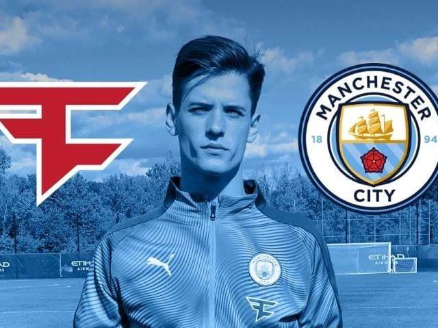 FaZe Clan Ties Up Partnership with Manchester City Football Club