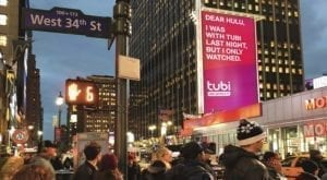 Tubi Out-of-Home Brand Campaign