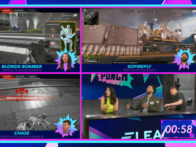 ELEAGUE & Twitch Deliver Daily Super Punch Late-Night Show