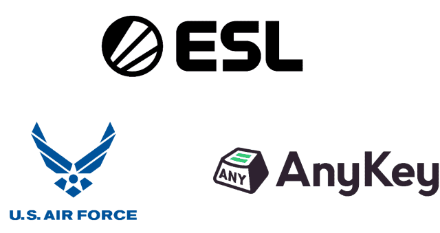 02/20/20: The US Air Force boarded a new deal with ESL and Anykey