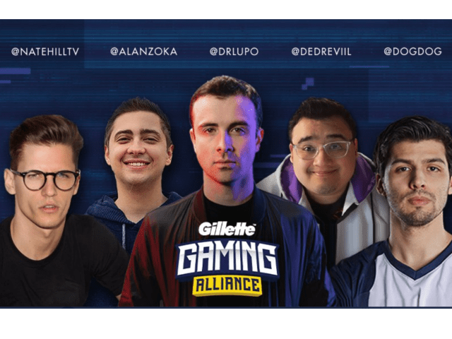 Gillette Recruits New Gaming Alliance in Twitch Partnership
