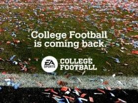 EA kicks off college football return