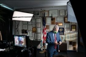 Dr. Anthony Fauci gets his close-up