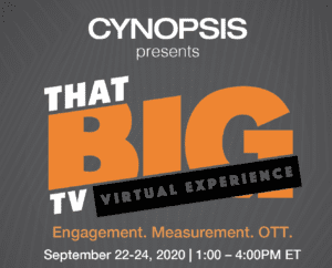 Cynopsis' Big TV Virtual Experience 2020