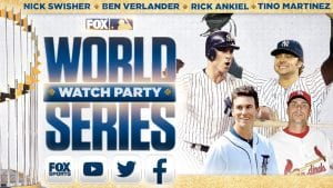 2020 World Series Watch Party