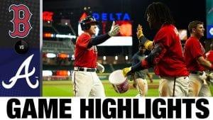 9/25 Boston Red Sox @ Atlanta Braves Freddie Freeman Walkoff