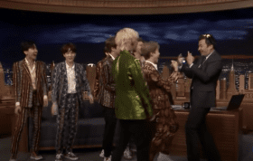 """BTS returns to """"The Tonight Show"""""""