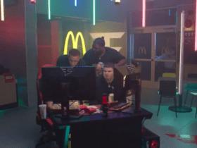 McDonald's orders a combo