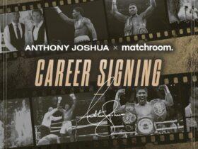 Joshua lights long Matchroom deal